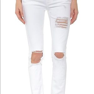Siwy - Ladonna - mid-rise white jeans